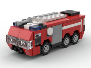 LEGO® Airport Crash Tender MOC