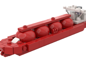"LEGO® ""Arctic Princess"" LNG Ship MOC"
