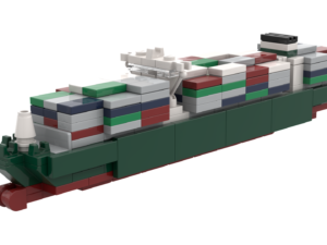 LEGO® Golden-Class Container Ship