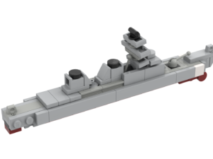 LEGO® Arleigh Burke Class Destroyer MOC
